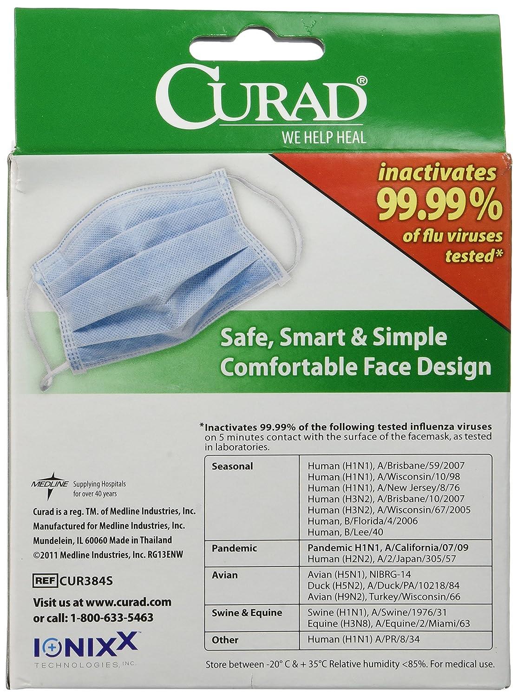 curad antiviral surgical mask