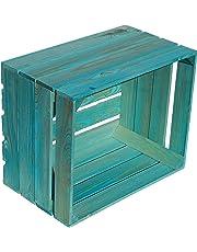Kistenkolli Altes Land - Juego de 4cajas de madera, cajas de fruta,