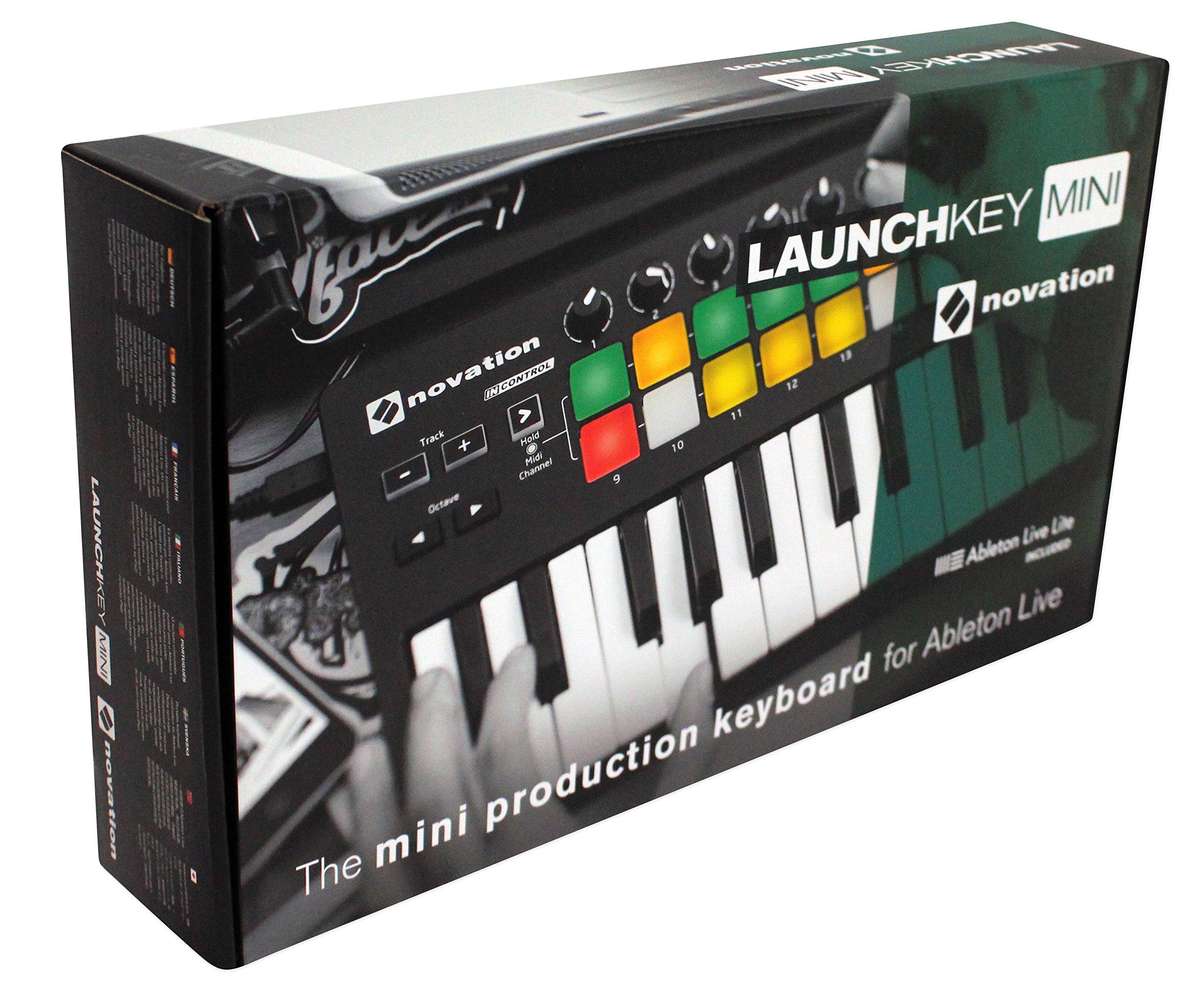 Novation LAUNCHKEY MINI MK2 25 Key USB Keyboard Controller+Bluetooth Speaker by Nov (Image #7)