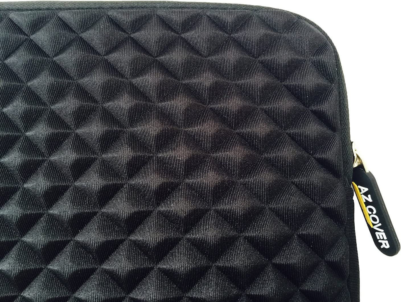 AZ-Cover 11-Inch Bag Simplicity /& Stylish Diamond Foam Shock-Resistant Neoprene Sleeve Black For Acer Aspire NX.M89AA.009//V5-131-2680 11.6-Inch Notebook PC Laptop