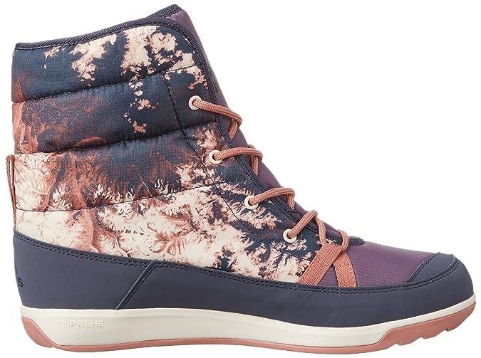 adidas W Choleah Padded Climaproof Climawarm Ash Purple Raw Pink Midnight Grey EU 42 UK 8 US 9.5 Wasserdichte warme Damen PrimaLoft®