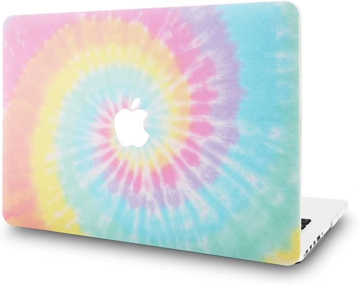 """KECC Laptop Case for MacBook Air 13"""" Plastic Case Hard Shell Cover A1466/A1369 (Colorful Spin)"""