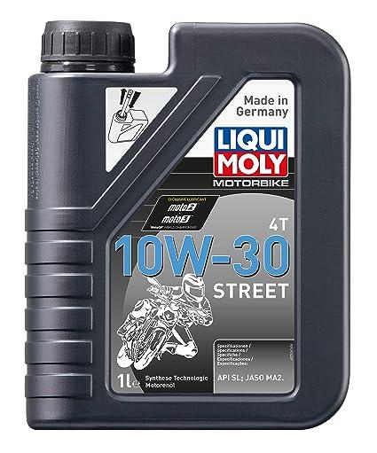 Liqui Moly 2526 - Aceite de motor, 4T, 10W-30, Calle, Booklet, 1 l ...