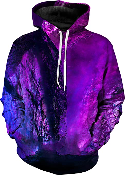 Premium Sublimation Graphics Clothing Gratefully Dyed GD Logo Pattern Hoodie