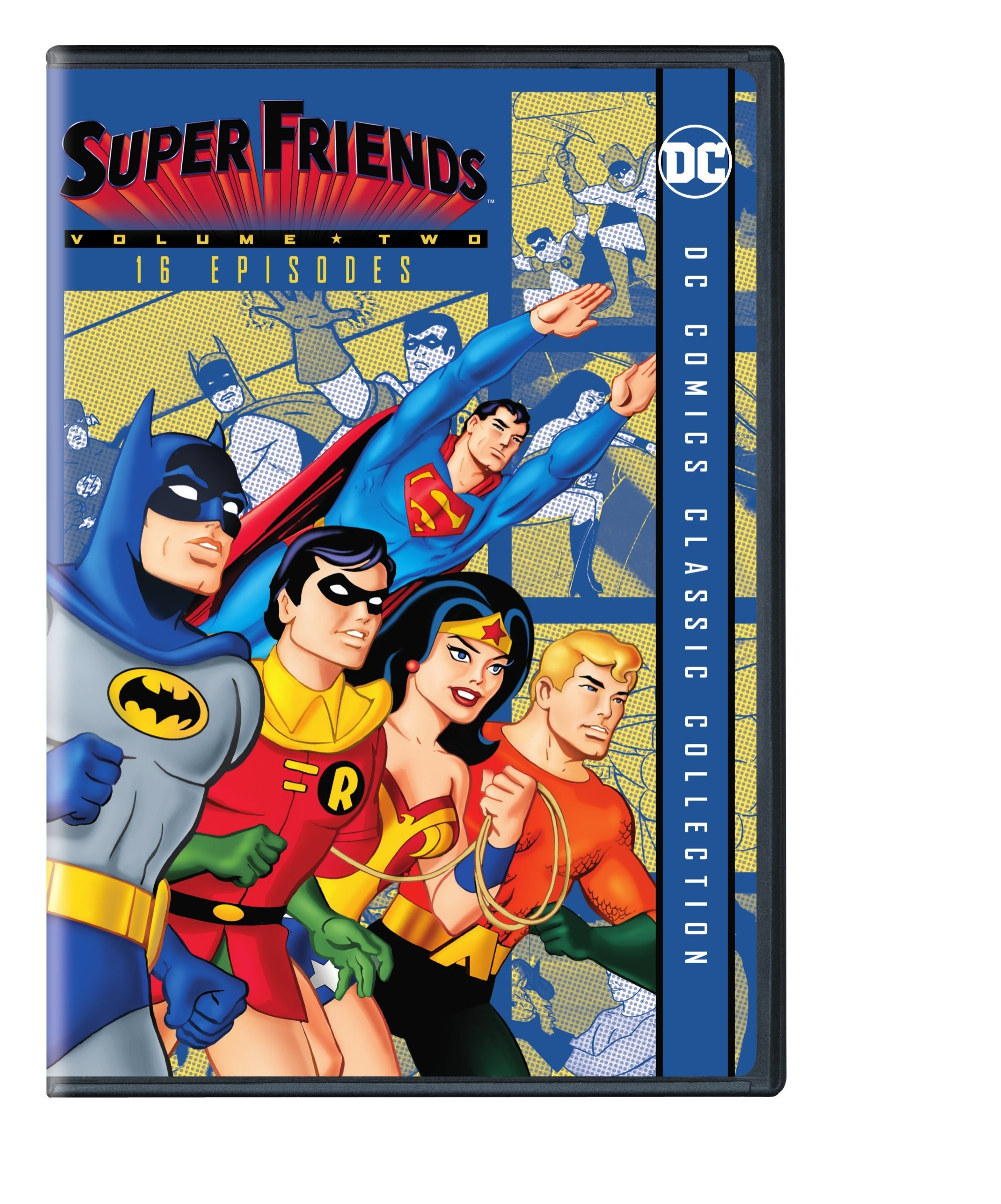 DVD : Superfriends, Vol. 2 (Amaray Case, Repackaged)