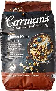 Carman's Muesli Toasted Deluxe Gluten Free 1.2kg
