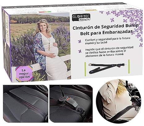 Adaptador de Cinturón de Seguridad para Embarazadas en Coche, Sin Botones de Prendas de Vestir