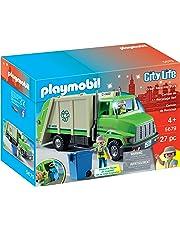 Playmobil Green Recycling Truck Playset