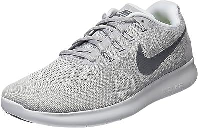 Nike Free Rn 2017, Zapatillas de Running para Hombre, Gris (Wolf ...