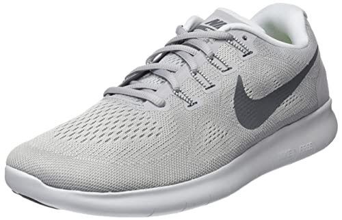 wholesale dealer 50d61 183cd Nike Free RN 2017, Scarpe da Trail Running Uomo, Grigio (Wolf Dark Grey
