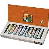 Lefranc Bourgeois Peinture Assortiment gouache fine boîte carton 10x25 ml Assorties