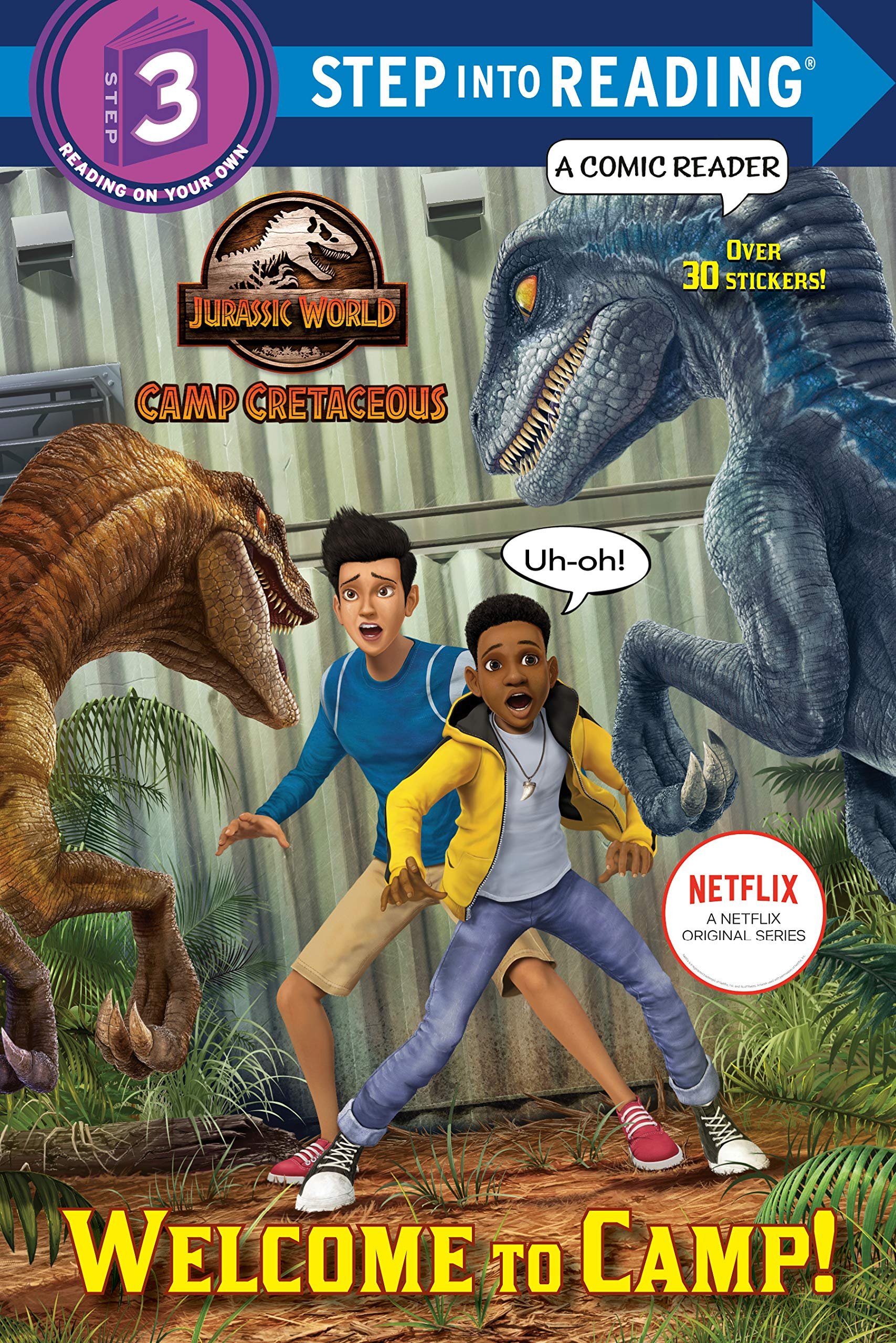 Amazon Com Welcome To Camp Jurassic World Camp Cretaceous Step Into Reading 9780593303351 Behling Steve Spaziante Patrick Books Зесун кан, майкл маллен, эрик элрод и др. amazon com welcome to camp jurassic
