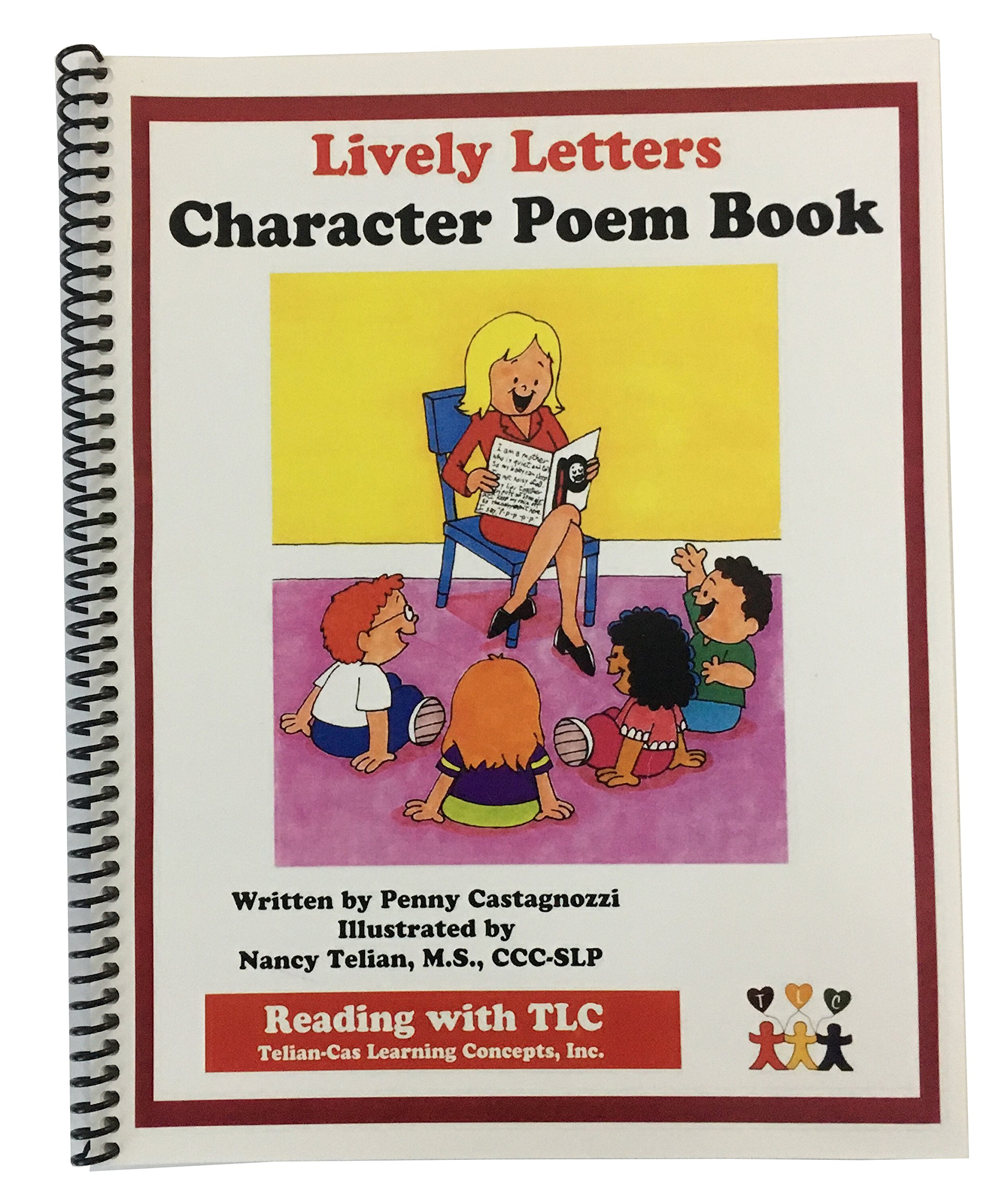 Read Online Reading with TLC - Lively Letters Character Poem Book pdf epub