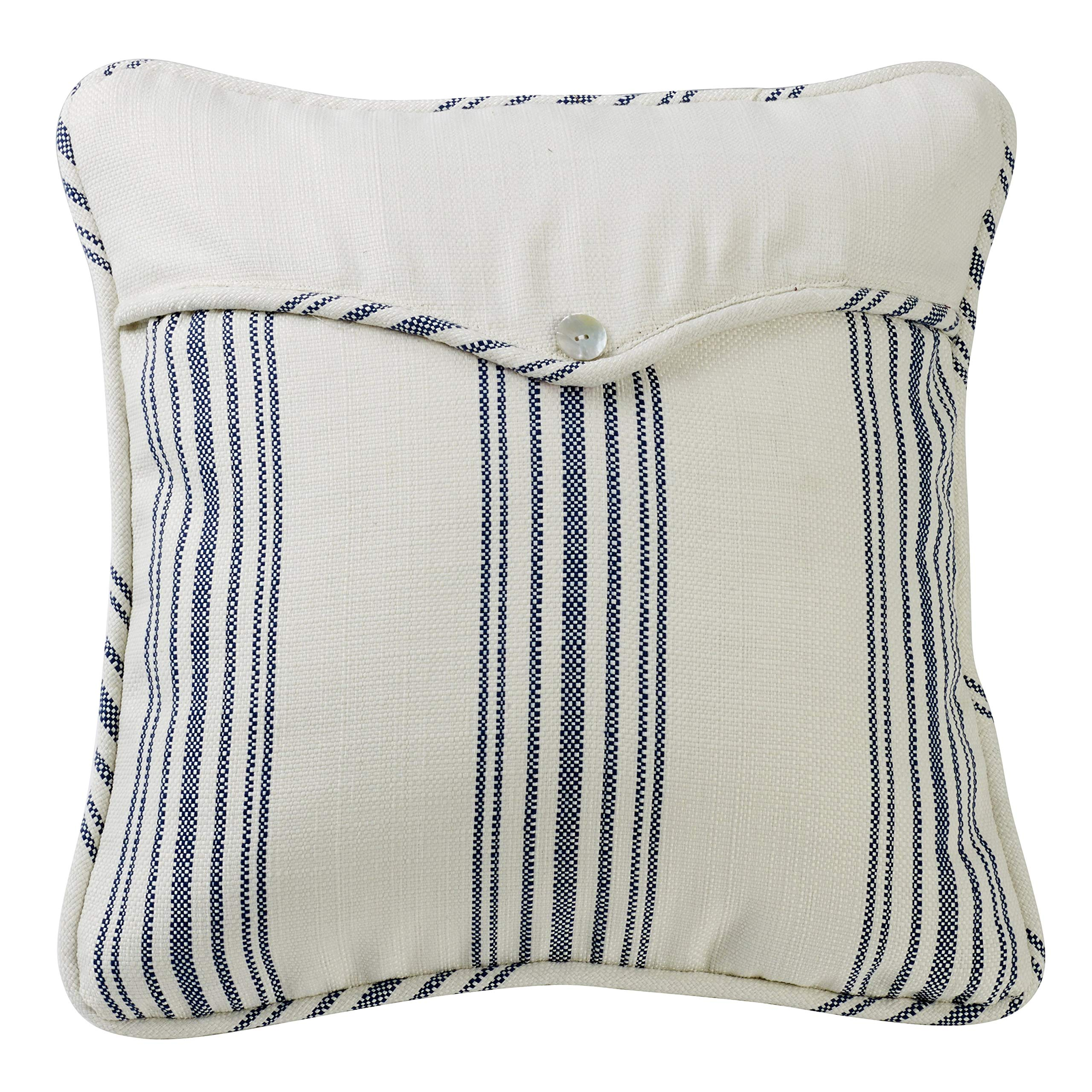 HiEnd Accents Unisex Prescott Large Pillow Red One Size