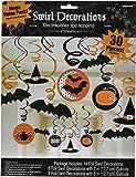 Amscan - Confezione di 30 Decorazioni da Appendere di Halloween