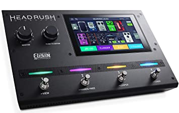 HeadRush Gigboard - Procesador de modelado de amplificadores y efectos de guitarra ultraportátil con software DSP
