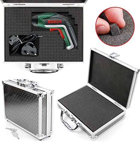 Compatible with The Vivitar DVR786HD 1080 Action Camera DURAGADGET Silver Aluminium Armoured EVA Shell Storage Case with Fully-Customizable /& Shock-Absorbing D.I.Y Foam Interior