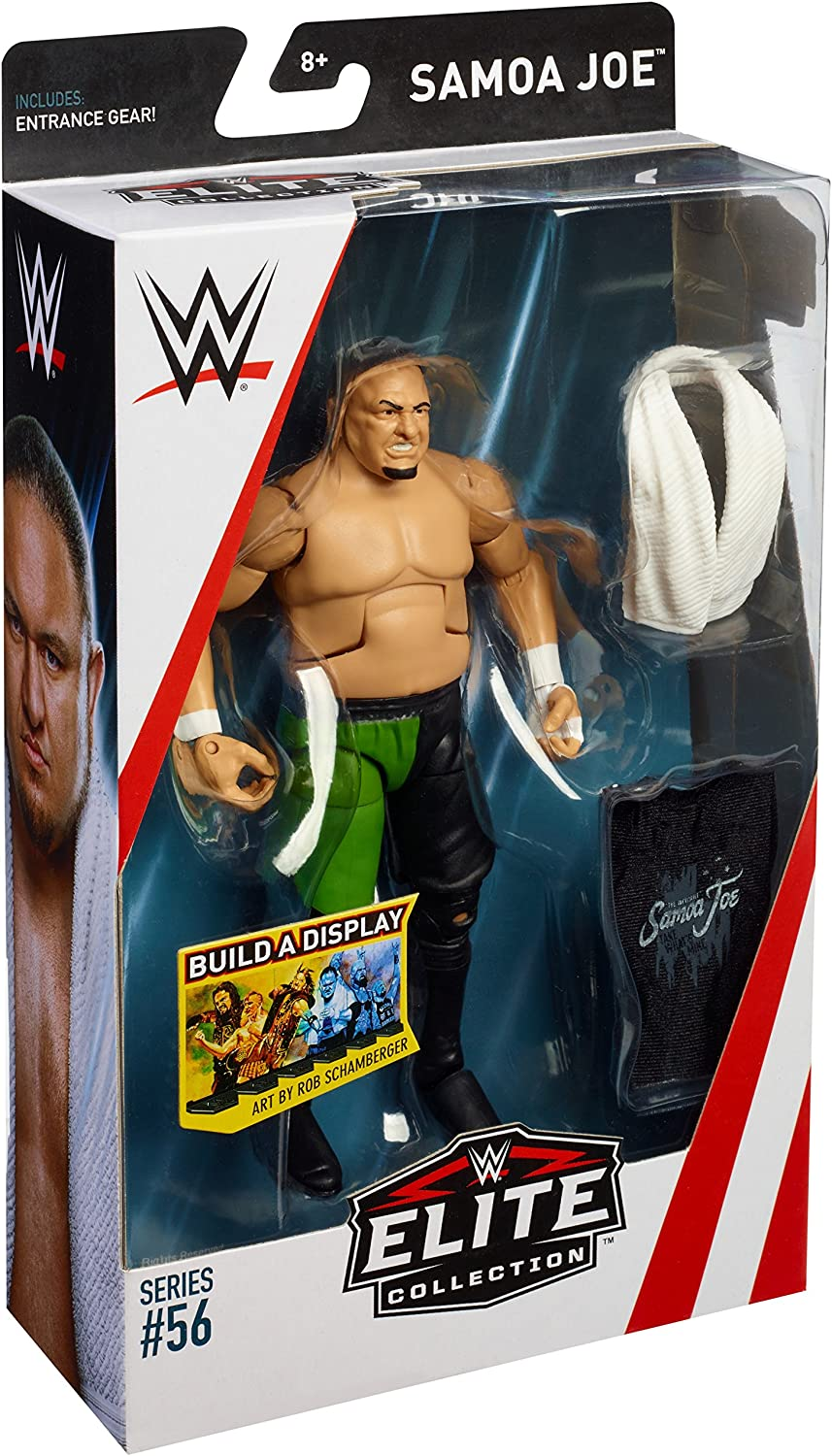 WWE Mattel Samoa Joe Elite Series 56 figure loose