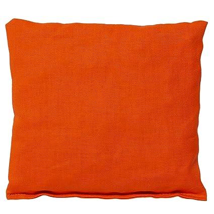 Saquito térmico 12x12cm naranja | Almohadilla térmica ...