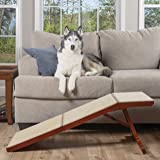 PetSafe CozyUp Sofa Ramp - Durable Wooden Pet Ramp Holds up to 100 lb - Great Couch Access for Dogs and Cats - Cherry…