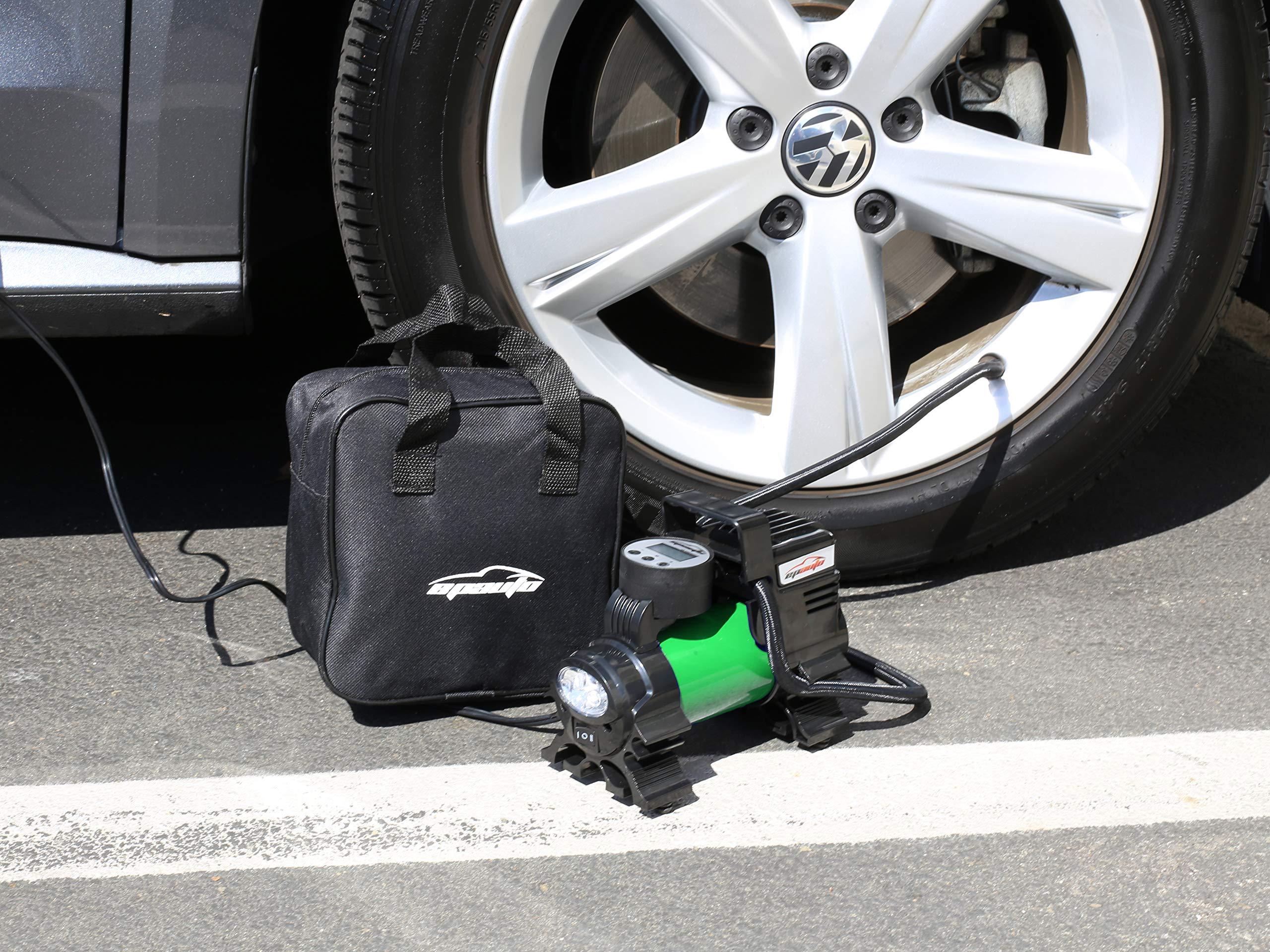 EPAuto 12V DC Portable Air Compressor Pump, Digital Tire Inflator by EPAuto (Image #3)
