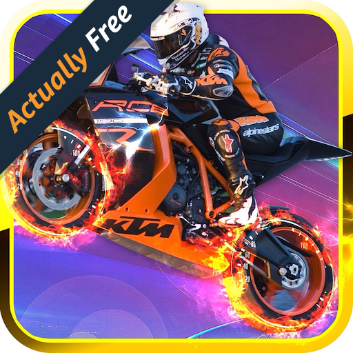Speed motors racing 2016 - free 3d bikes police pursuit - No ads version