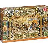 Jumbo - Azulejos de Barcelona, puzzle de 3000 piezas (618590)