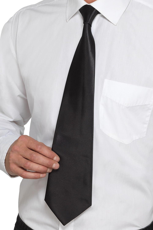 Smiffys 40291 Deluxe - Corbata de gánster para hombre, talla ...