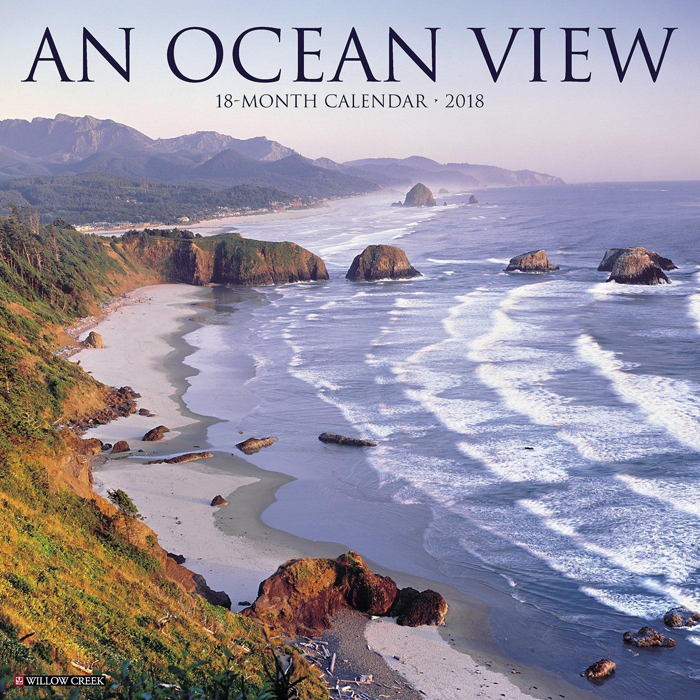 Ocean View 2018 Wall Calendar pdf