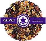 "No. 1385: Fruit Tea Loose Leaf""Red Moon"" - 250 g (8.82 oz) - GAIWAN Germany - Apple, Papaya, Hibiscus, Rose Hips, Strawberry and BlackBerry"