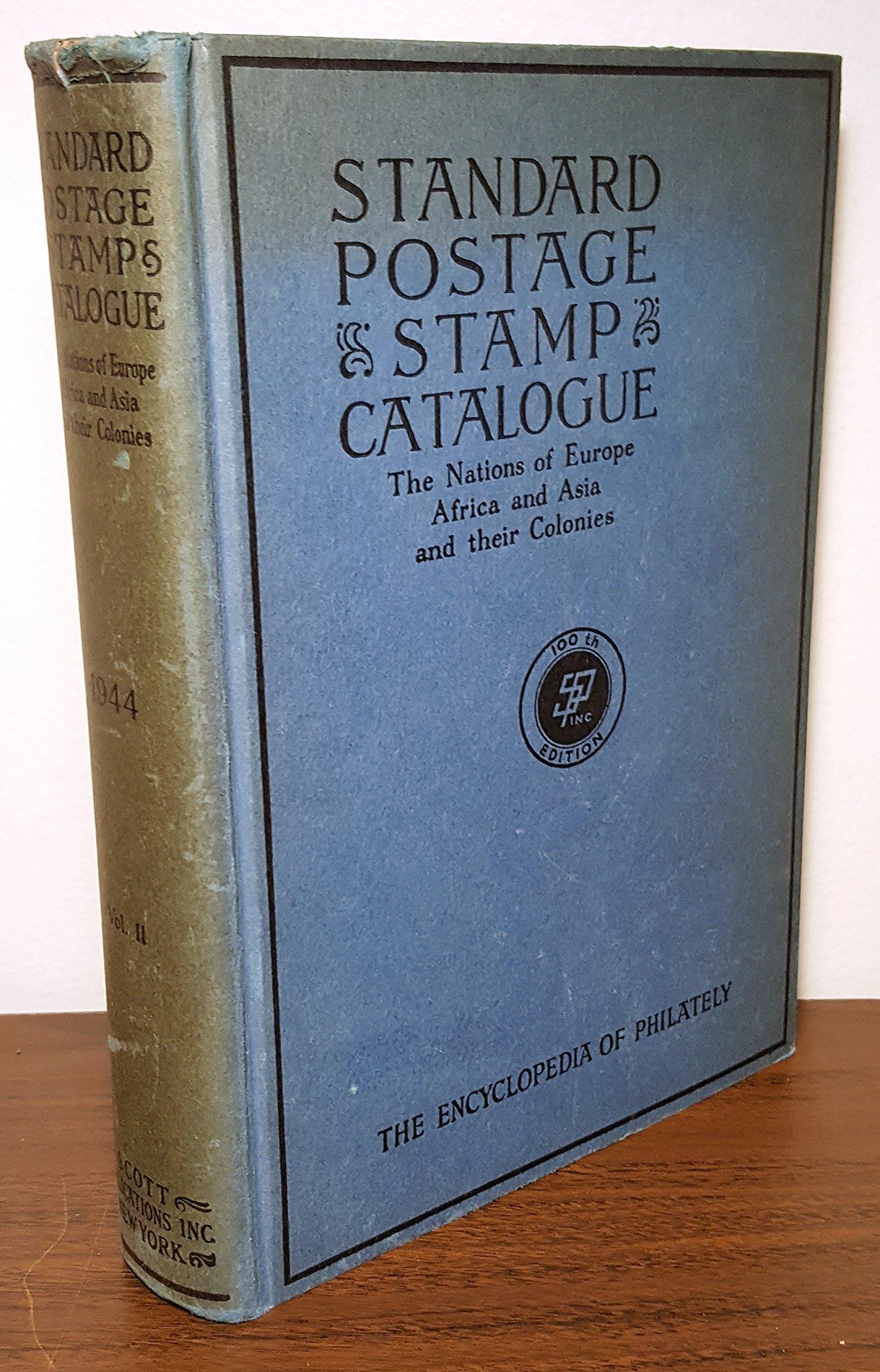 Scott's Standard Postage Stamp Catalogue: 1944: Volume 2