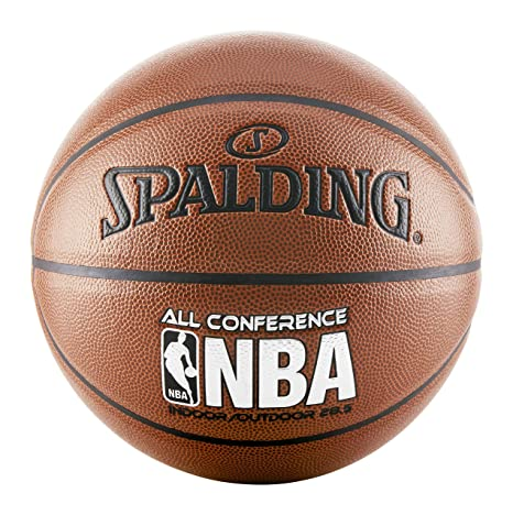 5444a3ff2786 Amazon.com   Spalding All Conference Basketball (Intermediate Size ...