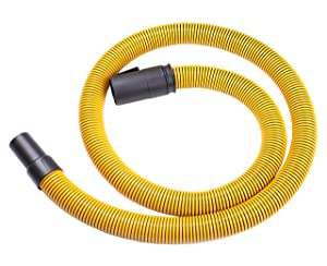 "DeWalt DXVA19-2500 Ultra Durable Hose 1-7/8"", Yellow"