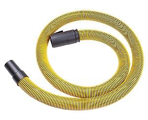 "DeWalt DXVA19-2500 Ultra Durable Hose 1-7/8"", Yellow"