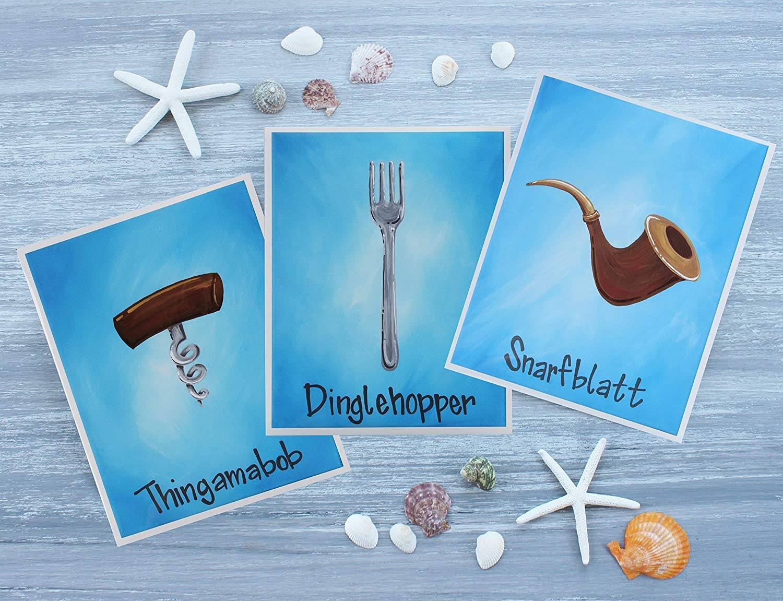 Amazon.com: The Little Mermaid Art Prints/Dinglehopper ...