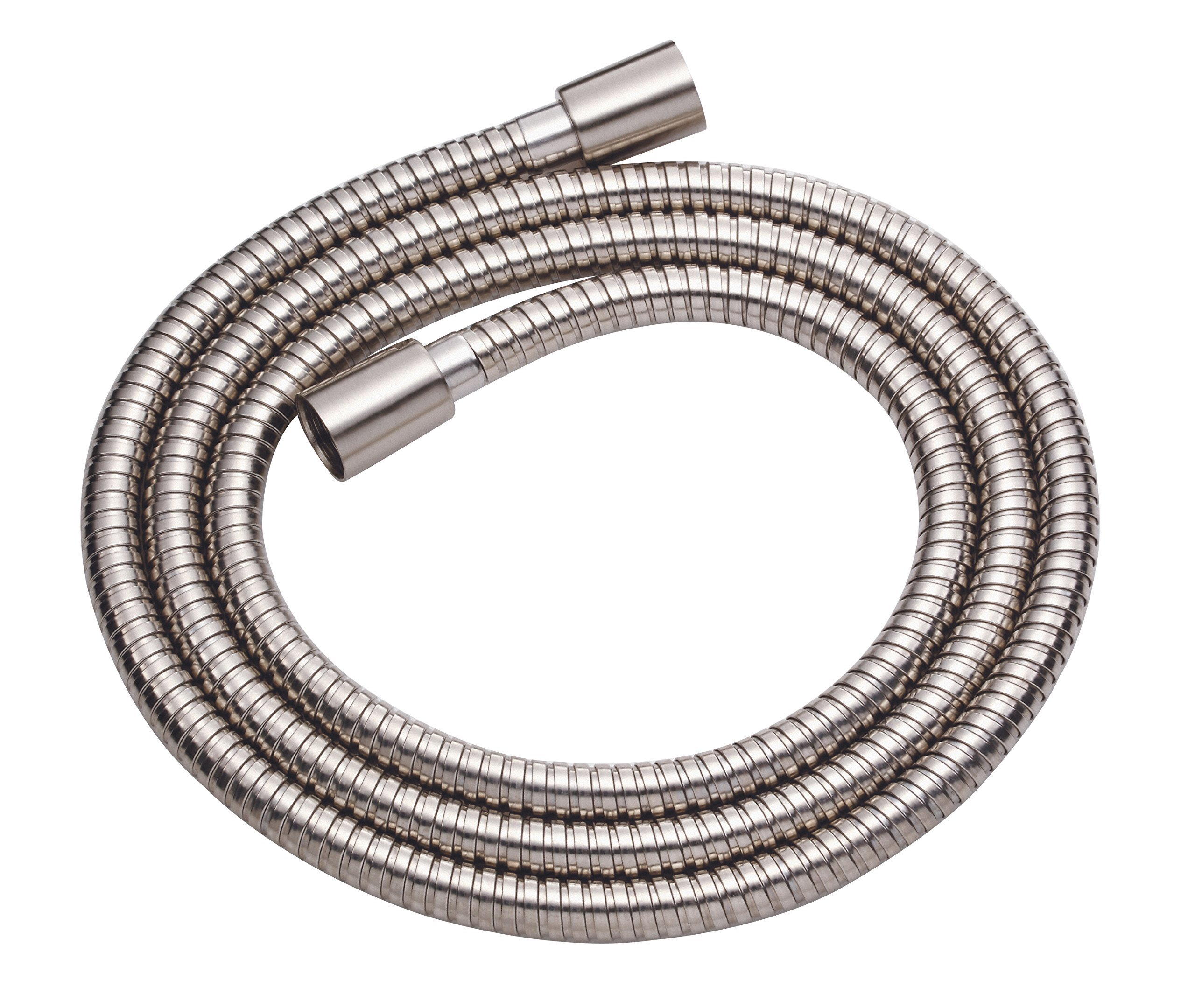 Danze D469020BN Metal Interlock Shower Hose with Brass Conical Nuts, 72-Inch, Brushed Nickel by Danze