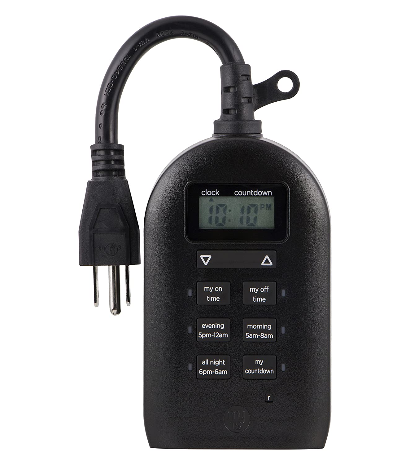 GE JAS26892, My Touchsmart Indoor Plug-In Digital Timer