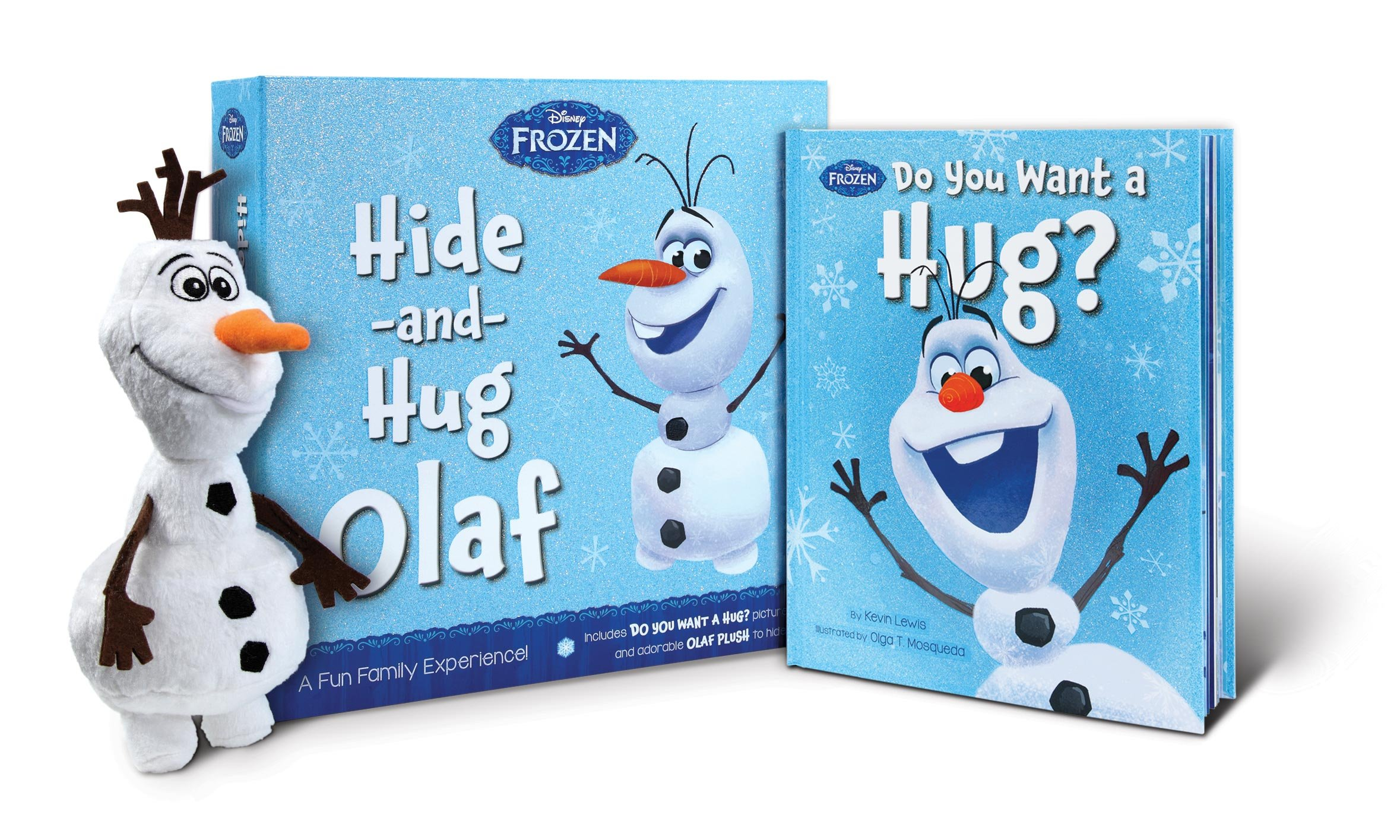 Frozen Hide-and-Hug Olaf: A Fun Family Experience!: Kevin Lewis ...
