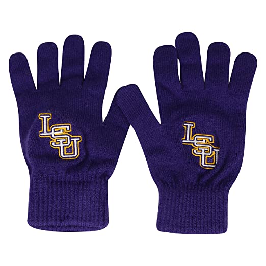 check out 50eff 248d0 Amazon.com   NCAA LSU Tigers TOW Knit Glove Leeward Beanie Hat And Team  Logo Scarf 3 Pack Bundle   Sports   Outdoors