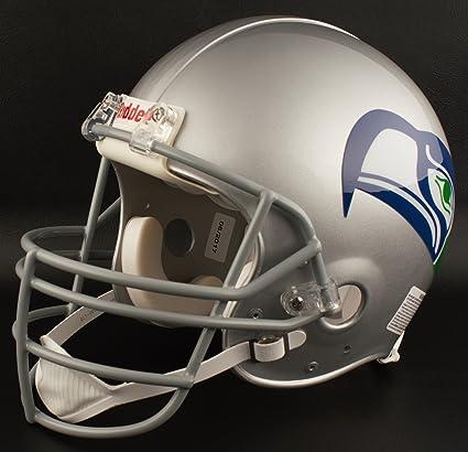 Football-NFL SEATTLE SEAHAWKS NFL Riddell Full Size REPLICA Throwback Football Helmet