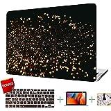 MacBook Air 11 Inch Case (2012-2015 Release), Glitter Fluorescent Mac Air 11 Inch Cover Case & Keyboard Cover & Screen…