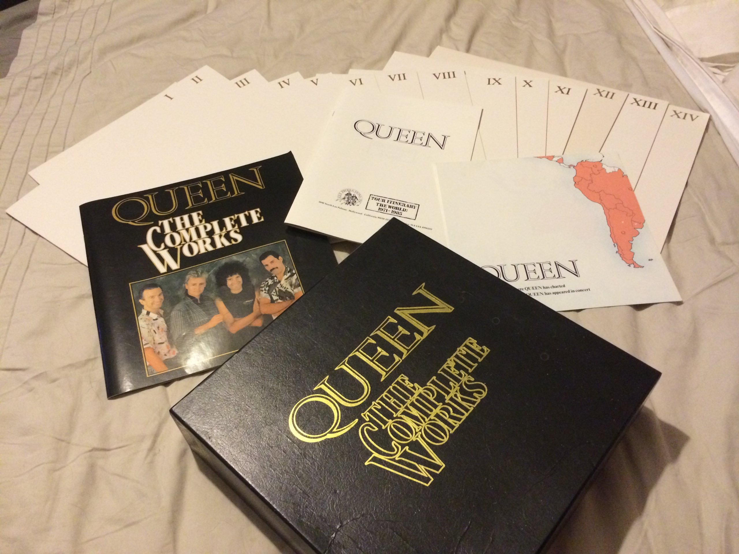 Queen the Complete Works Boxed 14 Vinyl Set