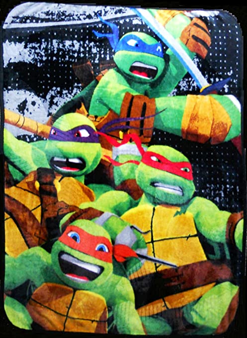 Amazon.com: Teenage Mutant Ninja Turtles Silk Touch Throw Blanket