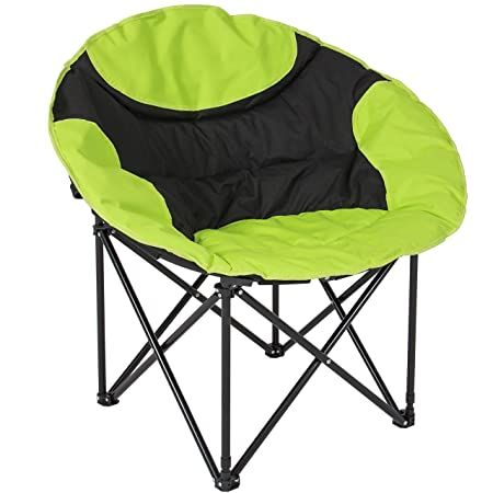 Best Choice Products Folding Lightweight Moon Camping Chair – for Outdoor, Fishing, Sport Use