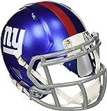 OFFICIAL NFL NEW YORK GIANTS MINI SPEED AMERICAN FOOTBALL HELMET BY RIDDELL