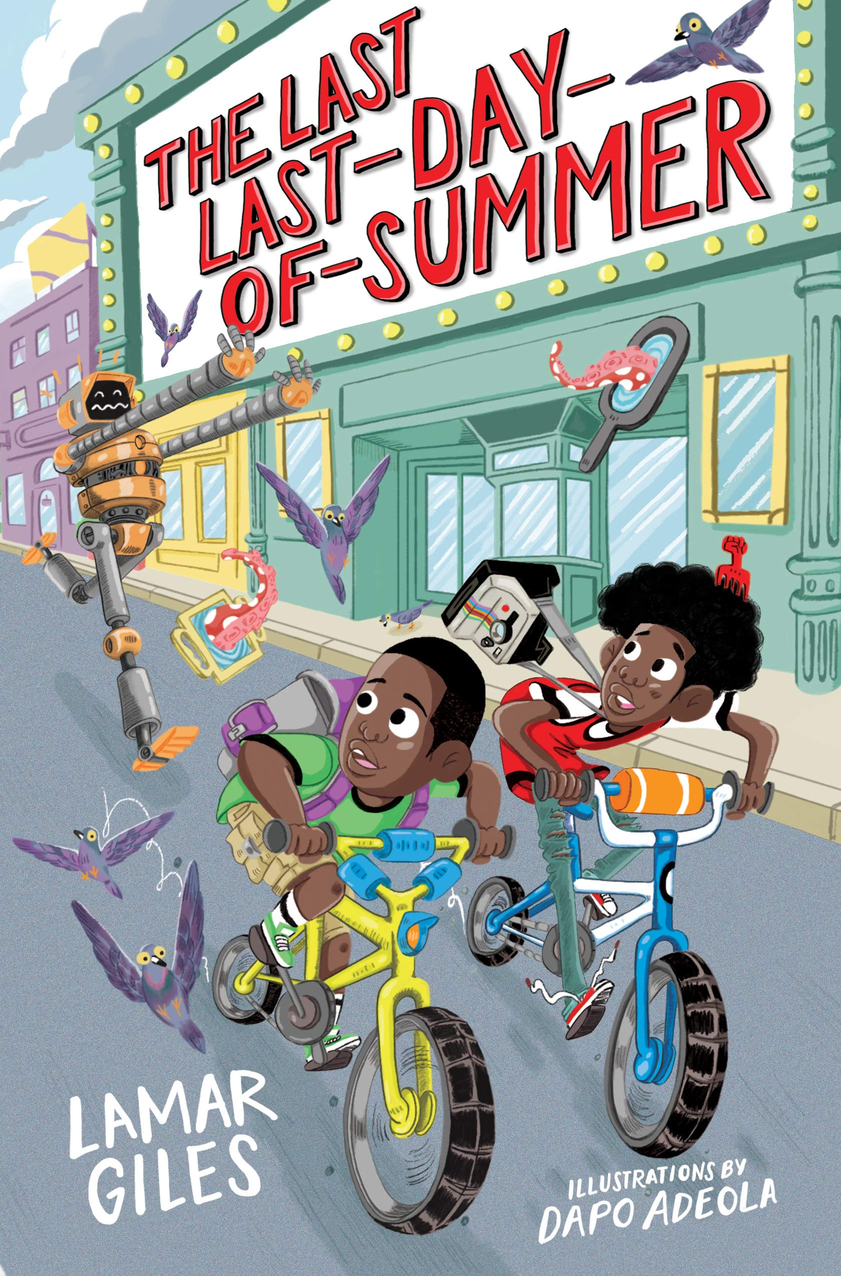 The Last Last-Day-of-Summer (A Legendary Alston Boys Adventure): Giles,  Lamar, Brooks, Derick: 9781328460837: Amazon.com: Books