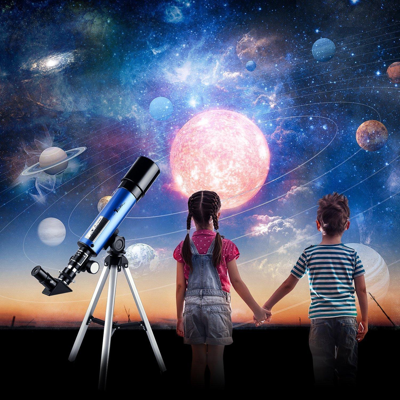 telescopios para niños