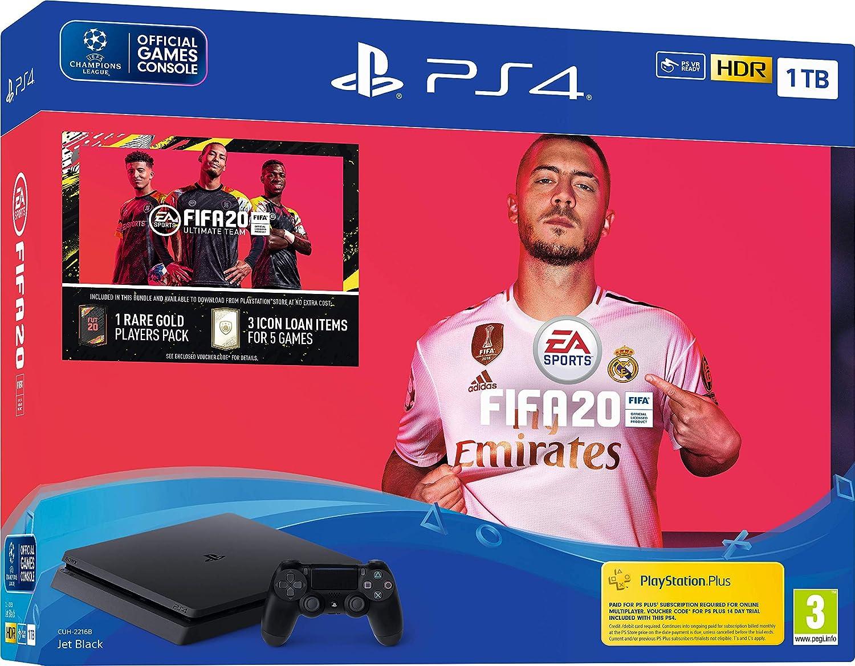 Fifa 20 1TB PS4 Bundle - PlayStation 4 [Importación inglesa]: Amazon.es: Videojuegos