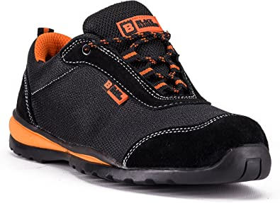New Lightweight Safety Trainers Steel Toe Cap Shoes Work Ankle Mens Hiking Boots