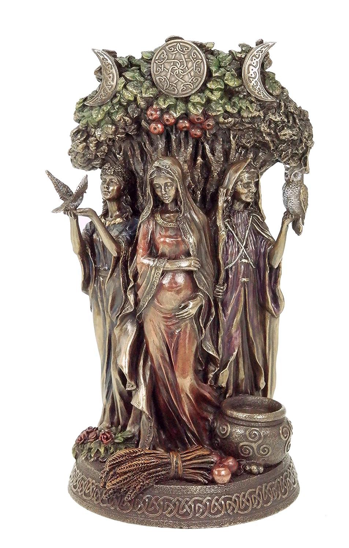 Keltische Trinity Göttin Statue Figur Skulptur Wicca Trinität keltisch